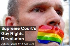 Supreme Court&#39;s Gay Rights Revolution