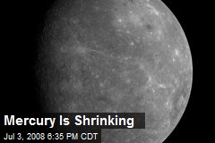 Mercury Is Shrinking
