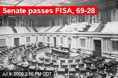 Senate passes FISA, 69-28