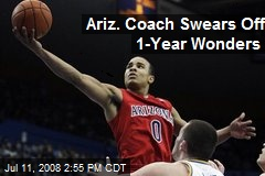 Ariz. Coach Swears Off 1-Year Wonders
