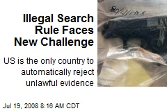 Illegal Search Rule Faces New Challenge