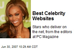 Best Celebrity Websites