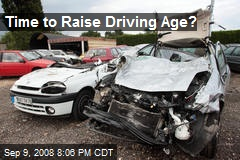 increasing the driving age-essay