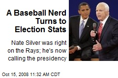 A Baseball Nerd Turns to Election Stats
