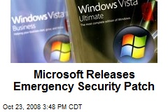 Microsoft Releases Emergency Security Patch
