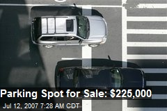 Parking Spot for Sale: $225,000