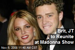 Brit, JT to Reunite at Madonna Show