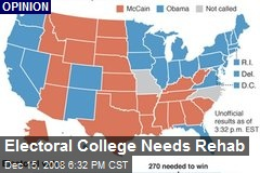 Electoral College Needs Rehab