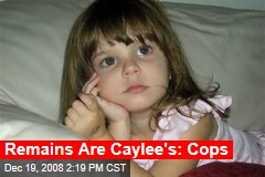 Remains Are Caylee's: Cops