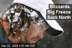 Blizzards, Big Freeze Sock North