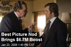 Best Picture Nod Brings $6.7M Boost