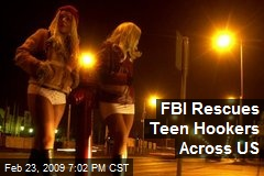 FBI Rescues Teen Hookers Across US