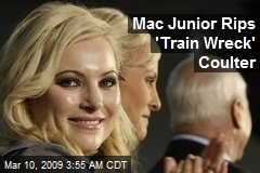 Mac Junior Rips 'Train Wreck' Coulter