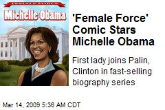 'Female Force' Comic Stars Michelle Obama