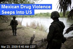 Mexican Drug Violence Seeps Into US