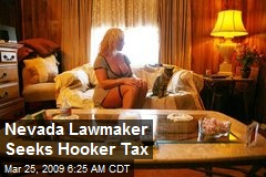 Nevada Lawmaker Seeks Hooker Tax