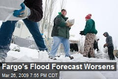 Fargo's Flood Forecast Worsens