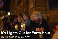 It's Lights Out for Earth Hour