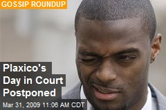 Plaxico&#39;s Day in Court Postponed