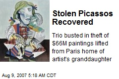 Stolen Picassos Recovered