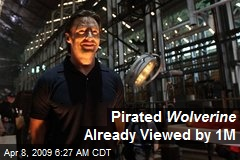 Pirated Wolverine Already Viewed by 1M