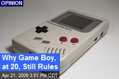 Why Game Boy, at 20, Still Rules