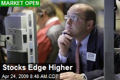 Stocks Edge Higher