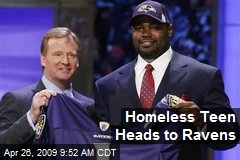 Homeless Teen Heads to Ravens