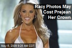 Racy Photos May Cost Prejean Her Crown