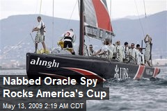 Nabbed Oracle Spy Rocks America's Cup