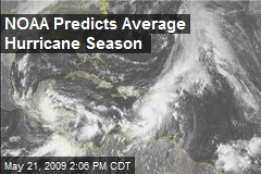 NOAA Predicts Average Hurricane Season