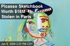 Picasso Sketchbook Worth $16M Stolen in Paris