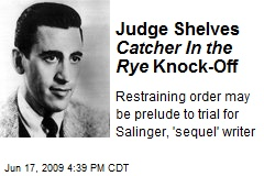 Judge Shelves Catcher In the Rye Knock-Off