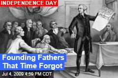 Founding Fathers That Time Forgot