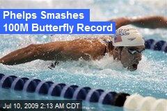 100 meter butterfly world