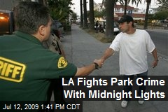 LA Fights Park Crime With Midnight Lights