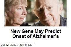 New Gene May Predict Onset of Alzheimer's
