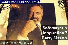 Sotomayor's Inspiration? Perry Mason