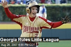 Georgia Rules Little League