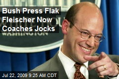 Bush Press Flak Fleischer Now Coaches Jocks