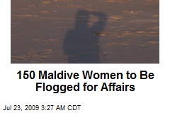 150 Maldive Women to Be Flogged for Affairs