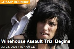 Winehouse Assault Trial Begins