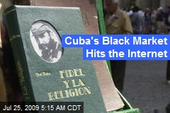 Cuba's Black Market Hits the Internet