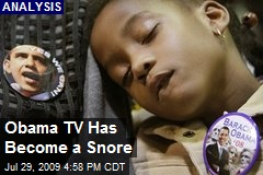 Obama TV Has Become a Snore