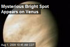 Mysterious Bright Spot Appears on Venus