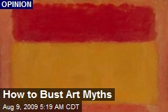 How to Bust Art Myths
