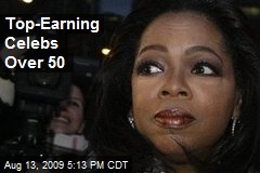 Top-Earning Celebs Over 50