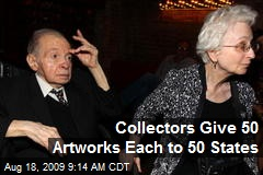 Collectors Give 50 Artworks Each to 50 States