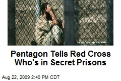 Pentagon Tells Red Cross Who's in Secret Prisons