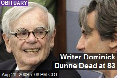 Writer Dominick Dunne Dead at 83